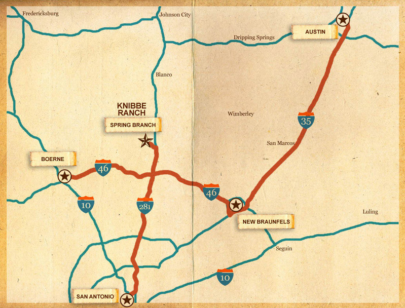 Directions to Knibbe Ranch